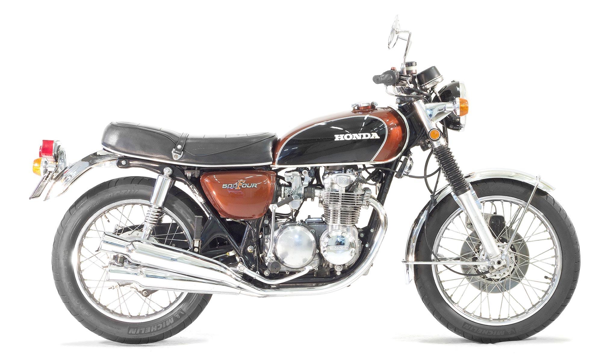 Honda_CB_500_Four_Braun